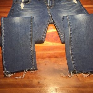 Articles Of Society Jeans - Articles of Society Skinny Frayed Jeans